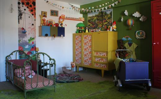 chambre retro dcoration vous pouvez voter pour toutes les chambres que aimez et tous - Chambre Vintage Deco